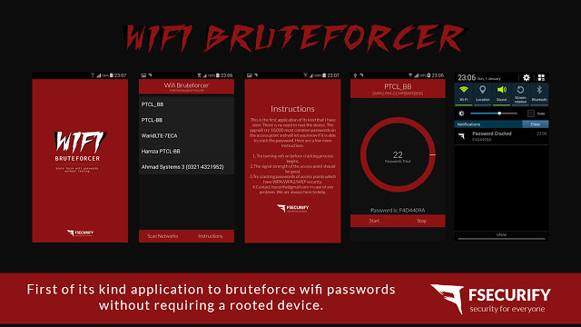 Download WiFi Bruteforcer