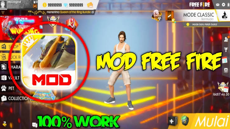 Download Free Fire Mod Apk Unlimited Diamond Gratis 2020
