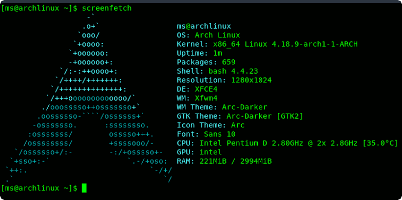 Cara install Arch Linux di Termux android no root